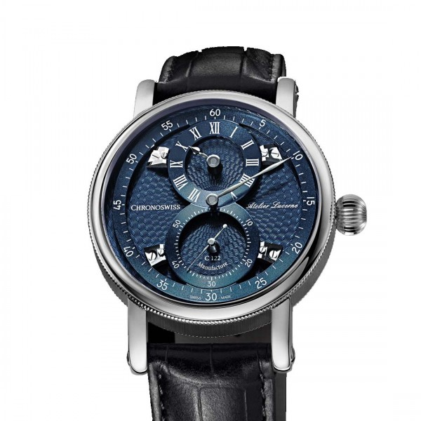 Chronoswiss Flying Regulator Manufacture Blue