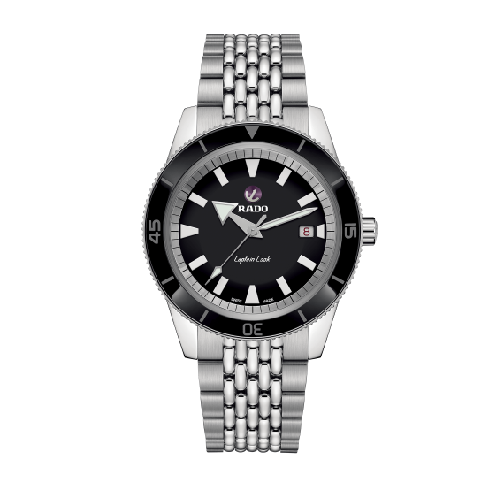 RADO Captain Cook Automatic Schwarz