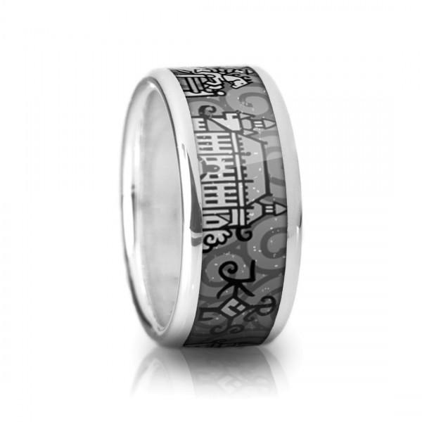 Der Aachen Ring in schwarz