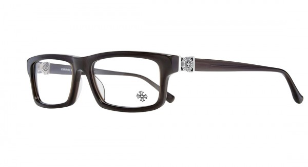 Chrome Hearts Brille BEEFTOMATO Brown Crystal