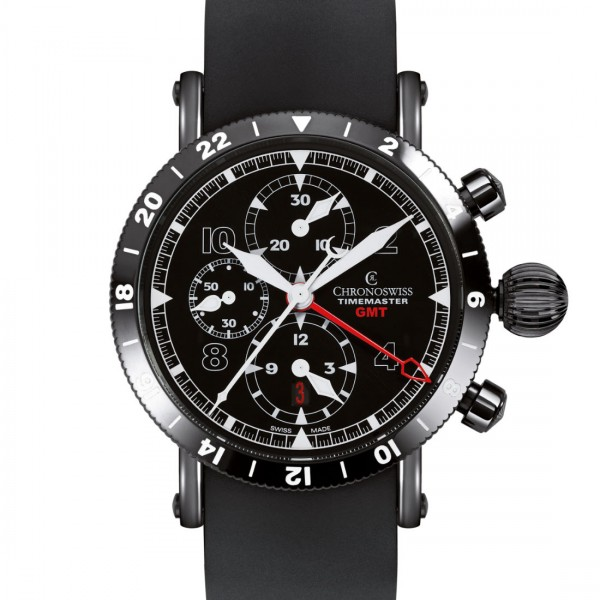 Chronoswiss Timemaster Chronograph GMT Black