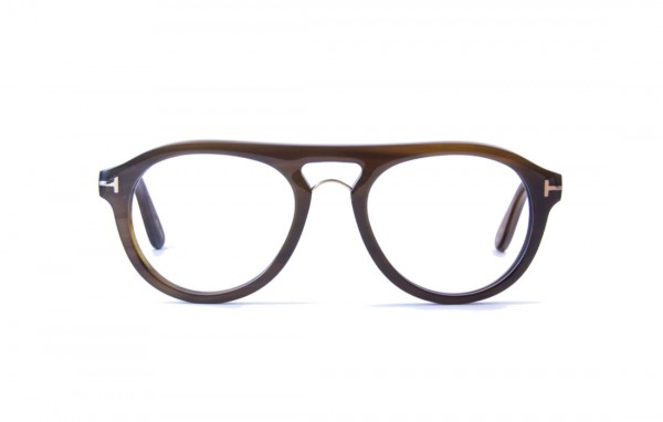 Tom Ford Private Collection Brille, Tom No3, brown FT5438-P5164E