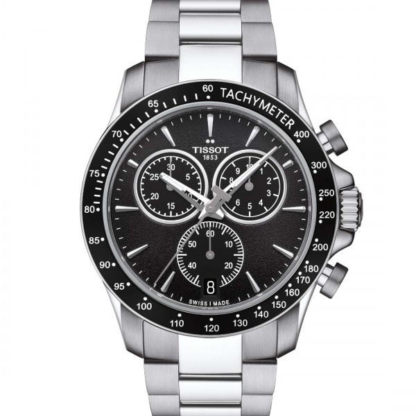 TISSOT V8 CHRONO Black steel