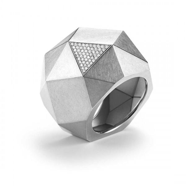 """Ring """"Kristallit"""" Pavé"""