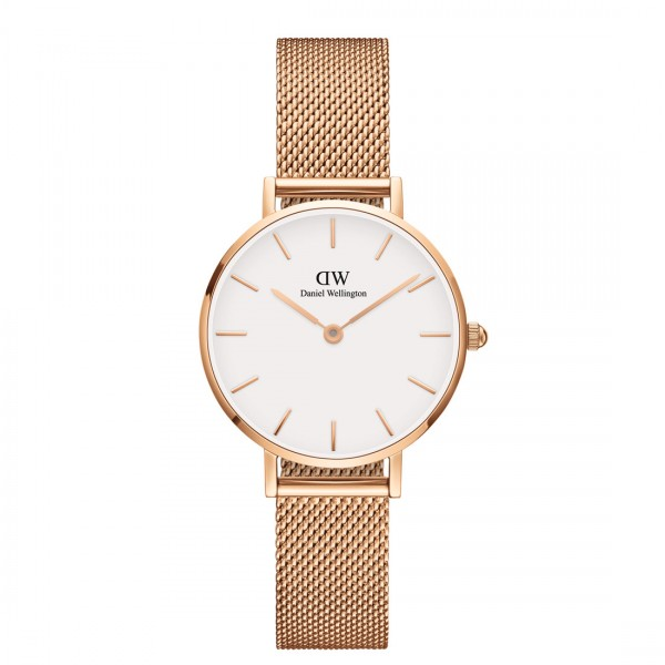 Daniel Wellington Damenuhr Petite 28 rose weiss