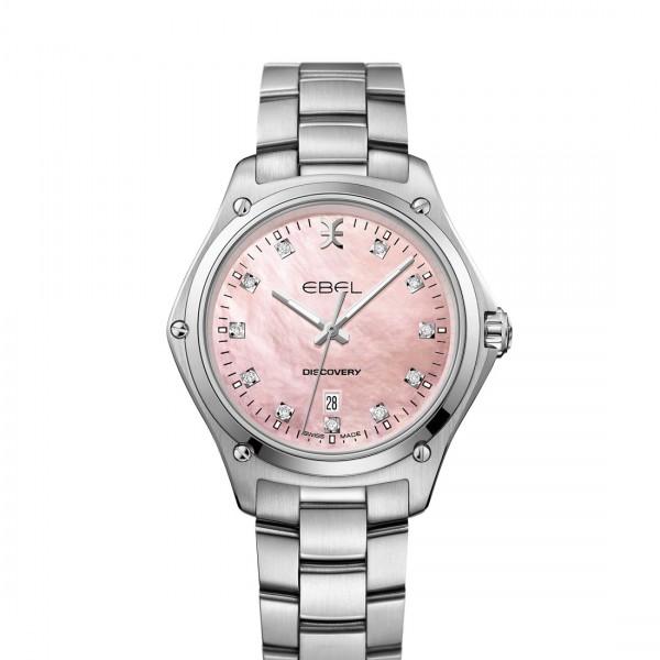 EBEL Discovery Damenuhr mit rosa Perlmutt-Zifferblatt 1216395