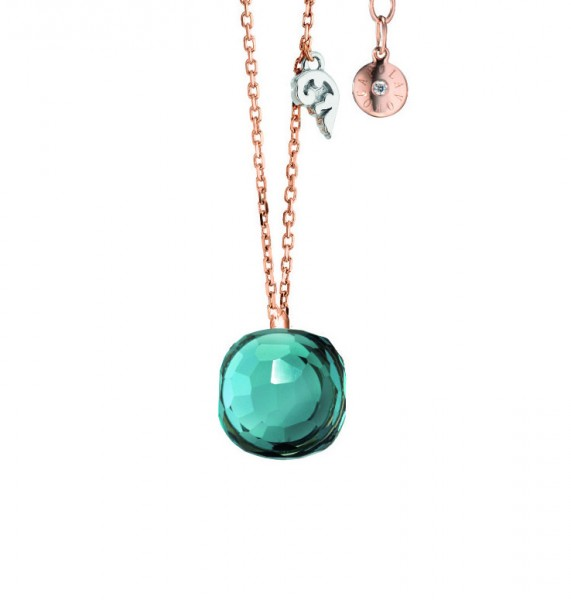 Capolavoro Collier Happy Holi mit London Blue Topas