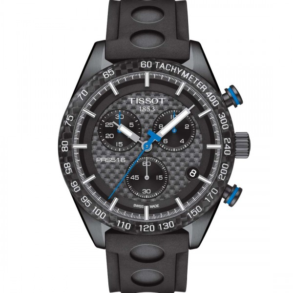 TISSOT PRS516 Quarz-Chrono Black steel